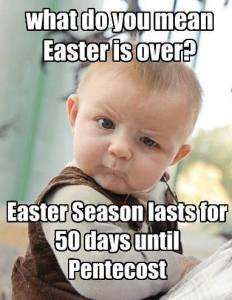 Eastertide 50 days